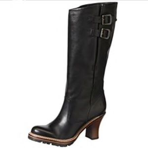 FRYE black Mildred English Pull boots